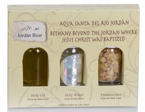 A Complimentary Gift from Peace River Jordan Contains Holy Water, Olive Oil & Frankincense